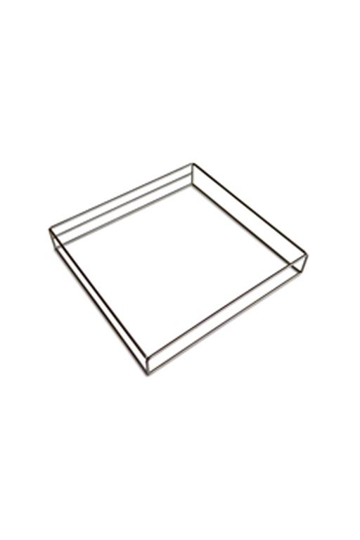 Ramka metalowa do filtra z tkaniny filtracyjnej: 1 szt.