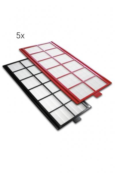 5 kpl. filtrów sztywnych do AERIS. Klasa średnia G4/1szt. i dokładna F7/1szt.